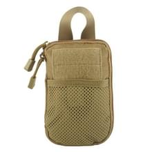1000D nylon tactische tas buiten taille Fanny Pack mobiele telefoon sleutel mini tools waterdichte sport Pouch (Tan)