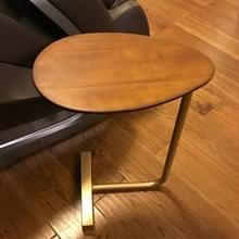 Kleine koffietafel moderne eenvoud bed tabel Scandinavische stijl ijzeren massief hout kant tabel mini creatieve thee tafel  grootte: 45 * 30 * 60cm (hout kleur)