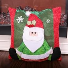 2 PCS Christmas Home Decoration Cartoon Stereo Doll Pillowcase Zonder Pillow Core (Old Man)
