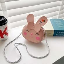 4 PCS Kinderen Mini Cute Cartoon Single Schoudertassen (Pink Bunny)