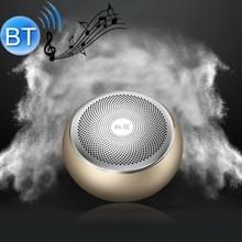 G1 Verbeterde versie geluidskwaliteit lossless kleine stalen kanon minikaart draadloze Bluetooth speaker (Tiran Gold )