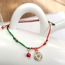 10 PCS Kerst handgebreide armband kerstcadeaus  stijl: sneeuwvlok