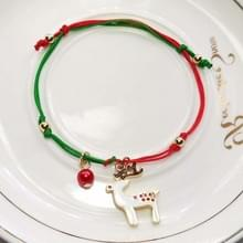 10 PCS kerst hand-gebreide armband kerstcadeaus  stijl: Elanden