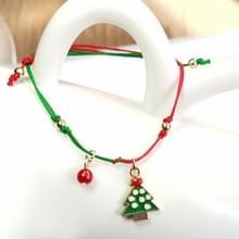 10 PCS Kerst handgebreide armband kerstcadeaus  stijl: kerstboom 2