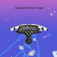 Z02 All-In-One Wind Cooling Mobile Phone Radiator Game Hulpknop Schieten Handvat  Style:Radiator Set (Battery Model)
