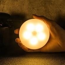 Intelligent menselijk lichaam inductie LED Nachtlicht Controle Slaapkamer Nachttafellamp  Stijl: Oplaadbaar (Warm Licht)