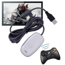Voor XBO X360 Handle USB Wireless Receiver(Wit)