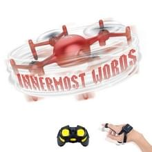 DIY Programmering Drone Remote Control Quadcopter  Style:Handle + Watch(Red )