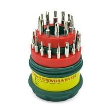 6 sets 31 in 1 Pagoda vorm multifunctionele combinatie schroevendraaier set