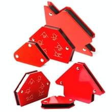6 In 1 Las positioner Meerdere specificaties Magnetic Fixed Angle Tool Welding Accessoires(Rood)