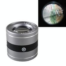 Oplaadbare buis type met LED Witte Lamp UV-lamp schaal meting en identificatie HD optisch glas 10 keer vergrootglas