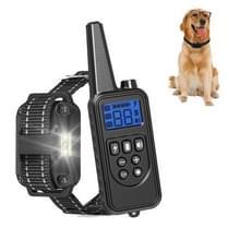 Bark Stopper Pet Levert Halsband Afstandsbediening Halsband Dog Training Device  Style:880-1 Zwart