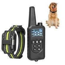 Bark Stopper Pet Levert Halsband Afstandsbediening Halsband Dog Training Device  Style:880-1 Groen