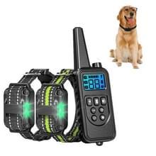 Bark Stopper Pet Levert Halsband Afstandsbediening Halsband Dog Training Device  Style:880-2