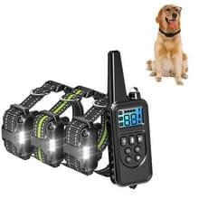 Bark Stopper Pet Levert Halsband Afstandsbediening Halsband Dog Training Device  Style:880-3