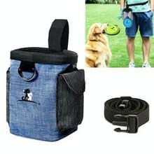 Hond Training Bag Outing Food Snacks Vuilniszak Hond Uitje Training Waist Bag Pet Training Bag  Specificatie: Blauwe taille tas