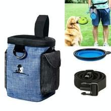 Hond Training Bag Outing Food Snacks Vuilniszak Hond Uitje Training Waist Bag Pet Training Bag  Specificatie: Waist Bag + Folding Bowl