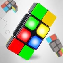 Elektronische muziek Verscheidenheid Interactieve Magic Cube Speelgoed Kinderen PuzzelSpel Magic Cube
