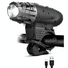 Bike Light USB oplaadbare mountainbike waarschuwingslampje  specificatie: Voorlicht