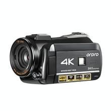 ORDRO AC3 3 1 inch IPS-scherm 4K Full HD 13MP Night Vision WiFi Live Camcorder DV digitale camera  Stijl:Standaard(Zwart)