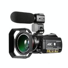 ORDRO AC3 3 1 inch IPS-scherm 4K Full HD 13MP Night Vision WiFi Live Camcorder DV digitale camera  Stijl:Standaard + Microfoon(Zwart)