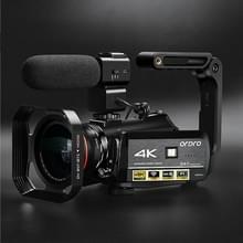 ORDRO AC3 3 1 inch IPS-scherm 4K Full HD 13MP Night Vision WiFi Live Camcorder DV digitale camera  stijl: standaard + microfoon +handheld standaard(zwart)