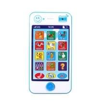 3 PC'S speelgoed kinderen educatieve simulatie muziek mobiele telefoon Toy Gift (blauw)