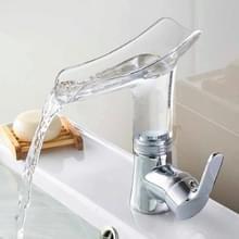 Badkamer Warm Koud Water Kraan Wijn Glas Water water kraan (Transparant)
