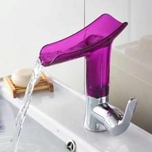 Badkamer Warm Koud Water Kraan Wijn Glas Water water kraan (Paars)
