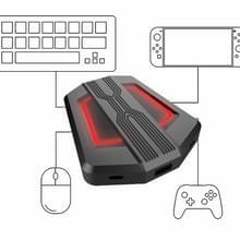 Toetsenbord- en muisconverter voor PS4/Switch/PS4 Pro/XBOX ONE(Zwart)
