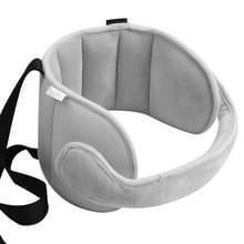 Hoofd van de autostoel kind steunen comfortabele veilige sluimerstand oplossing kussens nek reizen wandelwagen zachte Caushion(Grey)