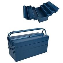 Dubbele handgreep Dubbel open drielaagse gereedschapskist Household Hardware Tool Storage Box  Specificatie: M (460x200x200mm)