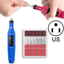 Elektrische nagel Kit nagel tips manicure machine elektrische Nail Art pen (VS blauw)