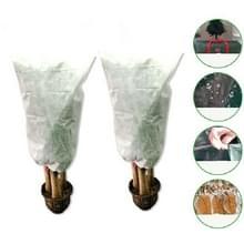 2 PCS Plant Freeze-proof Cover Herfst en Winter koud-proof tree cover niet-geweven plant antivries zak  specificatie: 0.8mx1.2m