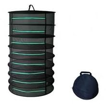 Opknoping Kruiden drogen net opvouwbare droogrek gesloten rits plant drogen net  specificatie: 60cm diameter 8 lagen