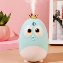 Cute Chicken Crown Office Desktop USB Humidifier Home Mute Aroma Diffuser (Lichtgroen)