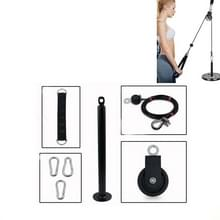 Zelfgemaakte fitnessapparatuur Home High Pull-Down Training Equipment Rally Triceps  Specificatie: 2.0cm Bell Plate Tray Set 1