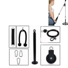 Zelfgemaakte fitnessapparatuur Home High Pull-Down Training Equipment Rally Triceps  Specificatie: 2.0cm Bell Plate Tray Set 2