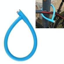 Mountain Bike Steel Kabel slot fiets anti-diefstal slot elektrische fiets motorfiets slot ketting deurslot (Blauw)
