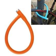 Mountain Bike Steel kabel slot fiets anti-diefstal slot elektrische fiets motorfiets slot ketting deurslot (oranje)