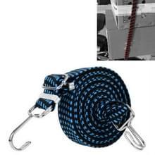 3 PCS fietsbinding touw verbreding en verdikking multifunctionele elastische elastische bagage rope plank touw  lengte: 1m (blauw)