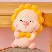 Pig Doll Pluche Speelgoed Creative Sun Pig Doll Gift  Hoogte: 30cm (Geel)