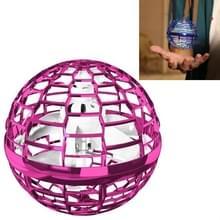 Magic Flying Ball Gyro Vliegtuigen kunnen draaien Creatieve Decompressie Toys (Roze)
