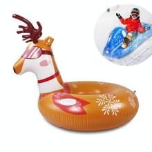Kinderen Opblaasbare Ski Laps Snowboard Adult Opblaasbare Sneeuw Speelgoed (Elanden)