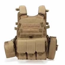 A64 Outdoor Multi-functionele Convenient Combination Vest Tool Pocket  Maat: Gratis maat (Bruin)