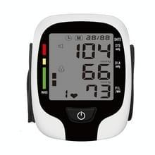 Pols type elektronische bloeddrukmeter Home Automatische Pols type bloeddrukmeting  stijl: Live Voice Broadcast (Wit Engels)