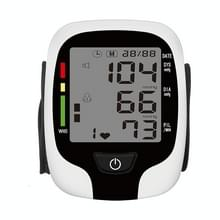 Pols type elektronische bloeddrukmeter Home Automatische Pols type bloeddrukmeting  stijl: geen voice aankondiging (Wit Engels)