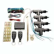2 Set Auto Afstandsbediening Centrale Lock Keyless Entry System met motor  externe luidspreker  dubbele knipperende prompt