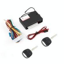 2 Set auto keyless entry afstandsbediening centrale lock rechte sleutelblad met staartdoos en venster lift functie