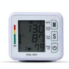KWL-W01 Home Automatic Smart Wrist Electronic Sphygmomanometer  Style: Engels met voice(white)